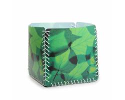 Aufbewahrungsbox - Lindenblatt grün