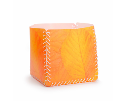 Aufbewahrungsbox - Buchenlaub orangerot