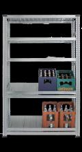 Foto: Super1-Getränkekistenregal mit zwei Getränkekisten-Fachböden
